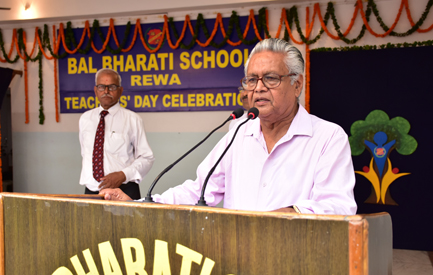 Speech by chief guest - Teachers' Day