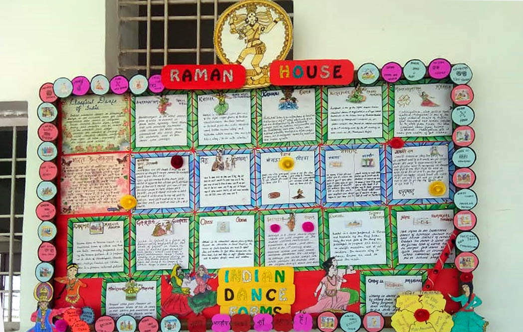Inter House Display Board Competition