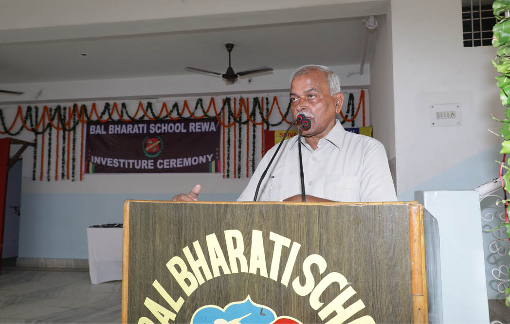 Investiture Ceremony-Speech By School Director