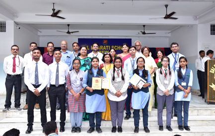 Prize winners of Inter School Debate Competition