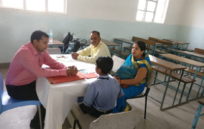 Counseling by Mr. Prashant Kumar Jha