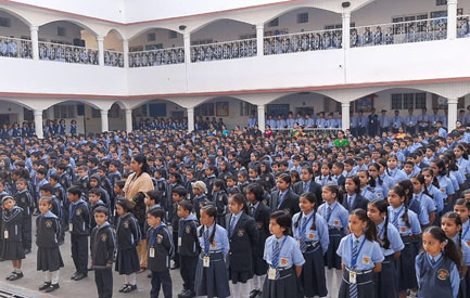 Special assembly on Children's Day