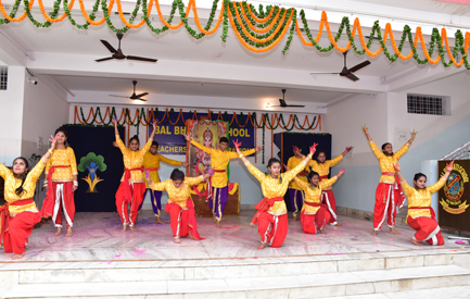 Group dance - Teachers' Day Celebration