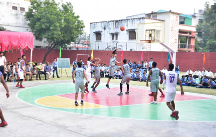 Final match-Sainik School Vs Bal Bharati School