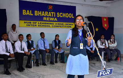 Participants of Inter School Debate Comp. -Senior