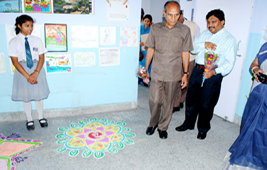 School Rangoli Competition